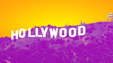 Picture of Hollywood sign by Thomas Wolf