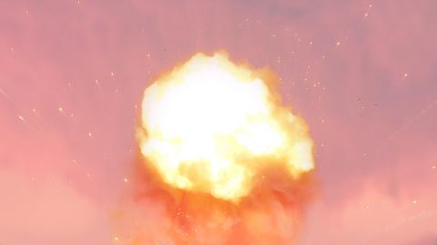 Image of an explosion