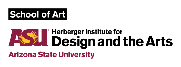 Logo for ASU School of Art Herberger Institute for Design and the Arts