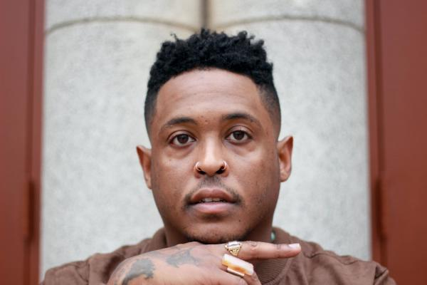 Photograph of Danez Smith by Hieu Minh Nguyen