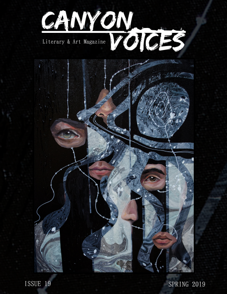 Cover of Canyon Voices Literary Magazine