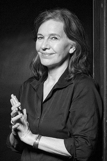 Photograph of Louise Erdrich by Hilary Abe