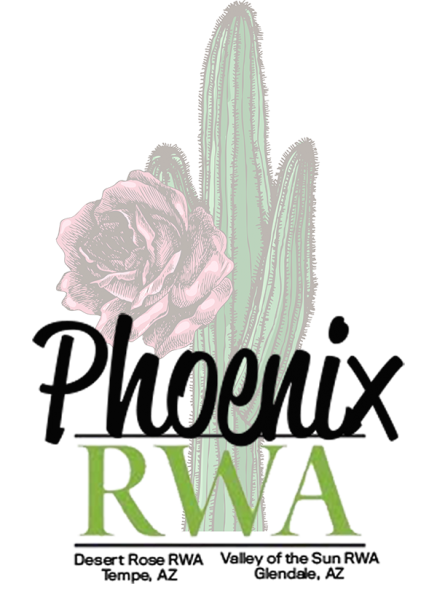 Logo for Romance Writers of America Phoenix