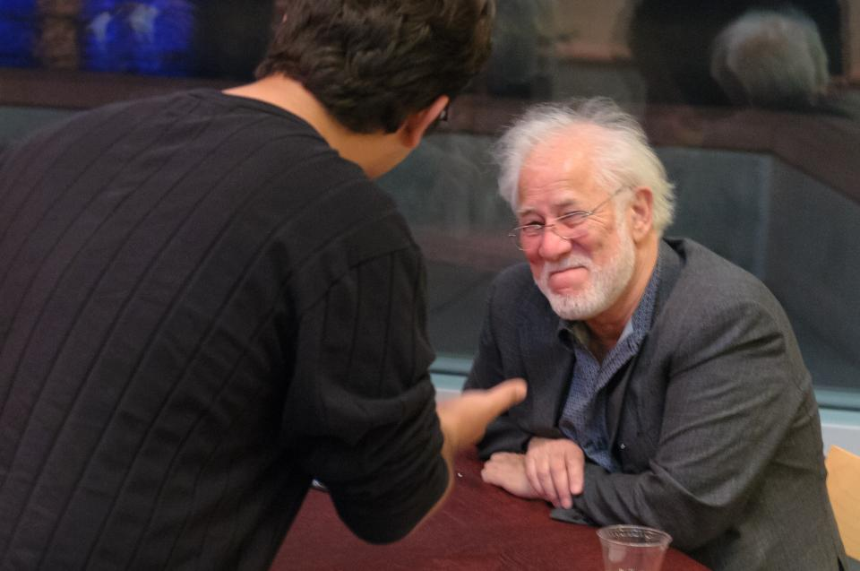 Picture of Visiting Writer Michael Ondaatje in 2012
