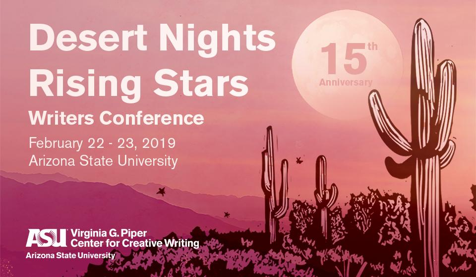 Desert Nights Rising Stars Writers Conference | Feb 22 - 23, 2019