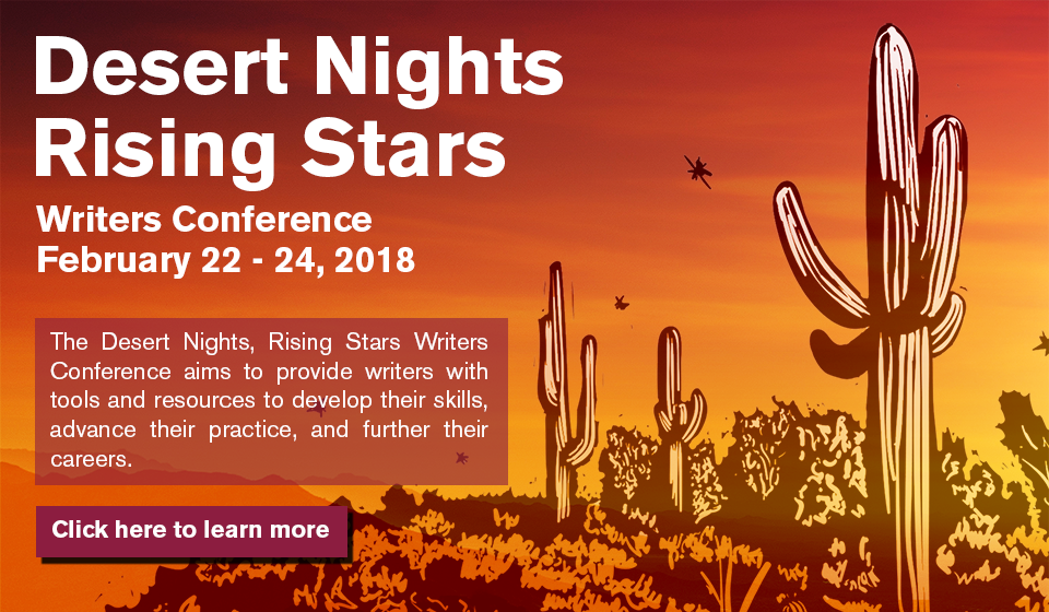 home virginia g piper center for creative writing learn more about the 2018 desert nights rising stars writers conference