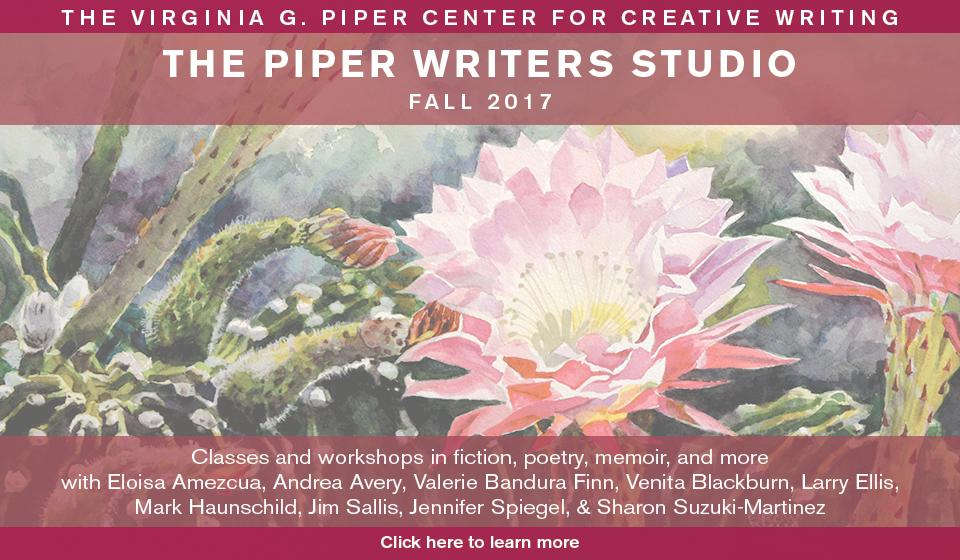 Virginia piper creative writing center