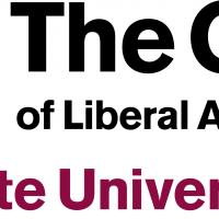 Text logo for the College of Liberal Arts and Sciences at Arizona State University