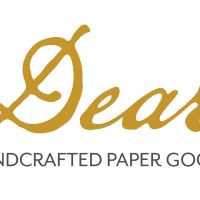Logo for Dear Handcrafted Paper Goods