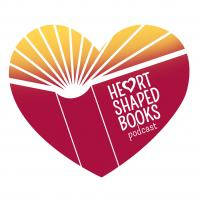 Logo for the Heart-Shaped Books Podcast