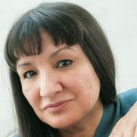 Photograph of Sandra Cisneros